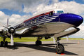Douglas DC-6B Royalty Free Stock Photography