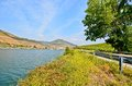 Douro valley riverside and vineyards near peso da regua portugal famous wine region in europe Royalty Free Stock Photo