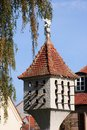 Dovecote rustic in the old town of bayreuth franconia bavaria germany Stock Photography
