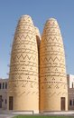Dovecotes at katara village qatar pigeon house Stock Images