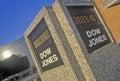 Dow Jones Stock Market marker, St. Louis, Missouri Royalty Free Stock Photo
