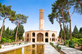 Dowlat Abad Garden . Yazd, Iran Royalty Free Stock Photos