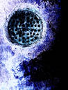 Down the drain Royalty Free Stock Photo