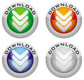 Download button Stock Photography