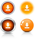 Download buttons. Stock Photo