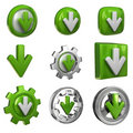 Download icons Stock Photos