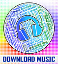 Download Music Indicates Sound Tracks And Acoustic Royalty Free Stock Photo