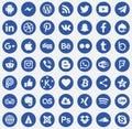 Download Social media icons Vector