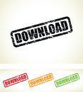 Download stamps a grungy set of Royalty Free Stock Photos