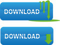 Download web buttons Royalty Free Stock Photography