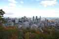 Downtime montreal in the fall canada september scenic view of Stock Photo