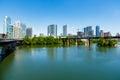 Downtown Austin Skyline Royalty Free Stock Photo
