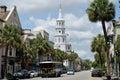 Downtown Charleston SC Royalty Free Stock Photo