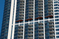 Downtown Chicago Apartment Buildings Royalty Free Stock Photo