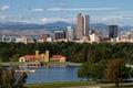 Downtown City of Denver, Colorado Royalty Free Stock Photo