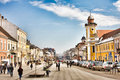 Downtown Cluj Napoca Royalty Free Stock Photo