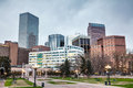 Downtown Denver cityscape Royalty Free Stock Photo