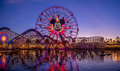 Mickey's Fun Wheel, Paradise Pier Royalty Free Stock Photo