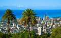 Downtown Honolulu, Oahu Hawaii Stock Images