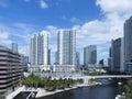 Downtown Miami, USA Royalty Free Stock Photo