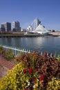 Downtown Milwaukee Wisconsin Royalty Free Stock Photo