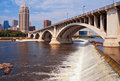 Downtown Minneapolis MN Day Royalty Free Stock Photo