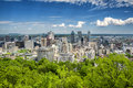Downtown Montreal Royalty Free Stock Photo