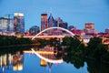 Downtown Nashville Cityscape A...