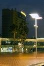 Downtown at night Balashikha Royalty Free Stock Images