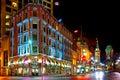 Downtown Ottawa at Night Royalty Free Stock Photo