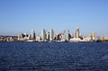 Downtown san diego the of viewed from coronado island Royalty Free Stock Photography