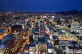 Downtown Sapporo Cityscape Stock Photo