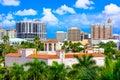 Downtown Sarasota, Florida Royalty Free Stock Photo
