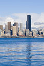 Downtown Seattle Skyline Royalty Free Stock Photo