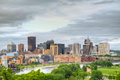 Downtown St. Paul, MN Royalty Free Stock Image