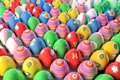 Dozens of easter eggs Stock Image