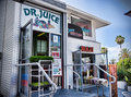 Dr. Juice, La Jolla, California Stock Photo