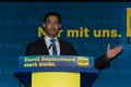 Dr philipp roesler vice chancellor and federal minister of economics during an election campaign meeting the fdp in kiel in the Stock Photo