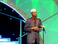 Dr. Zakir Naik Speech Stock Photography