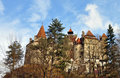 Dracula bran castle Royalty Free Stock Photo