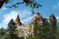 Dracula castle Royalty Free Stock Photo