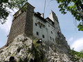 Dracula castle romania in bran the home of the vampire Stock Photo