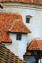 Dracula castle tourist visiting bran in transylvania romania Stock Photo