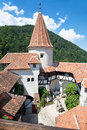 Dracula's Castle - Bran Castle, Transylvania, Romania, Europe Stock Photo