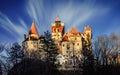 Dracula's Castle Royalty Free Stock Photo