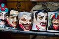 Dracula souvenir mugs Royalty Free Stock Photo