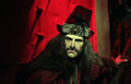 Dracula vlad the impaler wax statue at madame tussauds in london Royalty Free Stock Photos