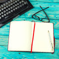 Draft notes writer. Royalty Free Stock Photo