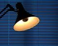Drafting lamp Royalty Free Stock Photo