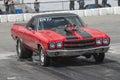 Drag car ready Royalty Free Stock Photo